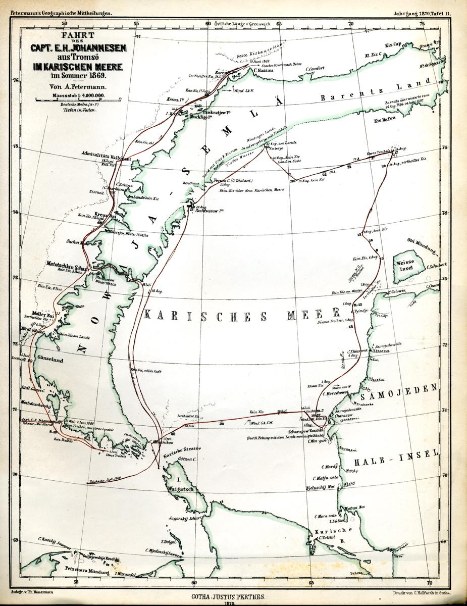karahavet kart Edvard Holm Johannesen   karahavet kart